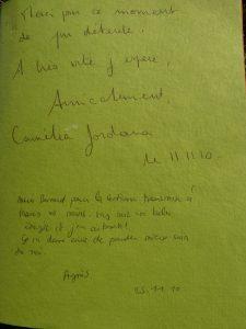 Camélia JORDANA et Agnés S.